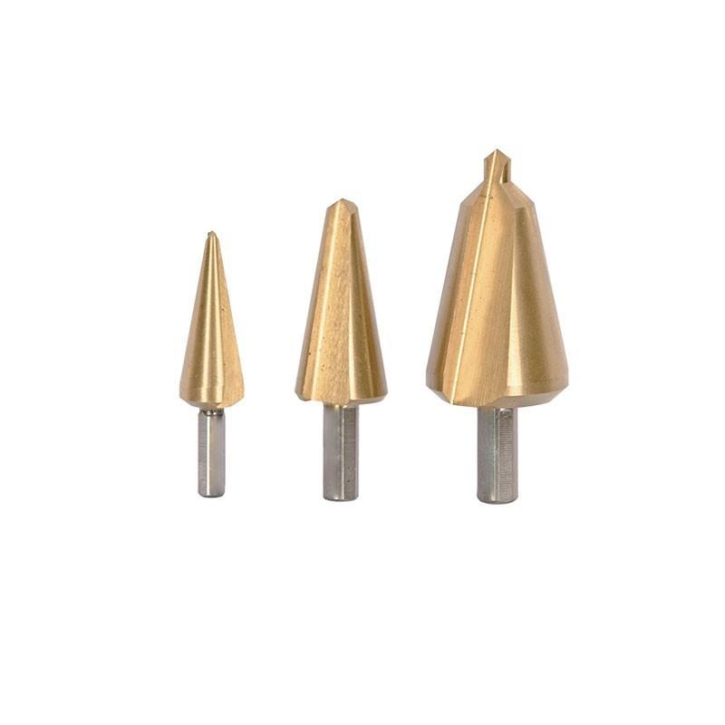 Smooth taper drills? Case of 3: Ø 4/6/16mm - Ribitech