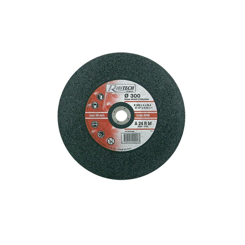 Abrasive Disc Ø300 Sawing Flat Steel 300X4X25.4 - Ribitech