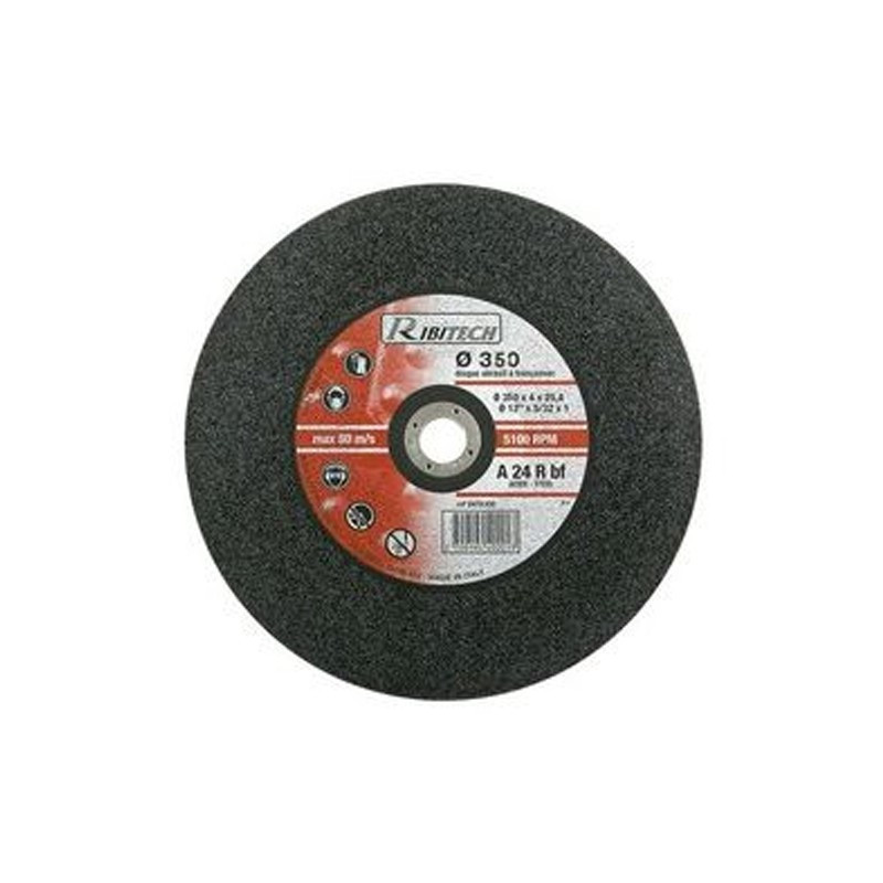 Abrasive disc Ø350 Sawing Flat Steel 350X3X25.4 - Ribitech