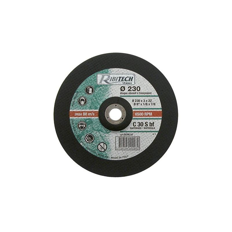 Abrasive disc Ø230 Sawing Materials 230X3.2X22.2 - Ribitech