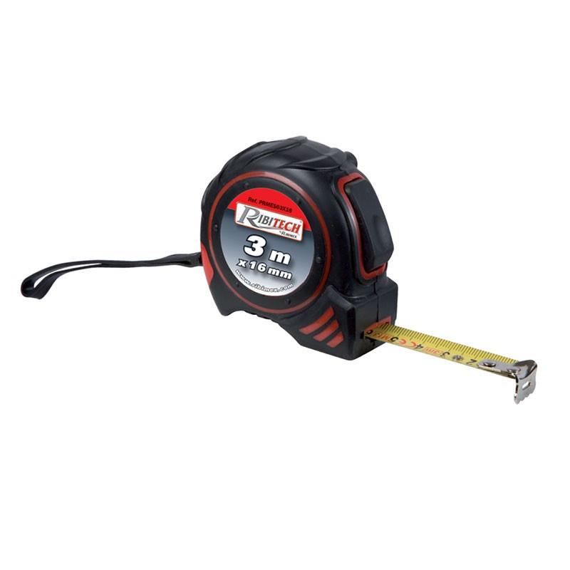 Ribitech ? Self-locking tape measure 3m x 16mm - Ribitech
