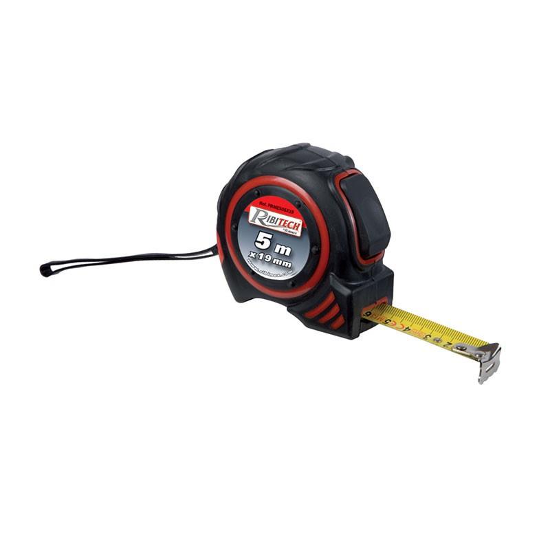 Ribitech ? Self-locking tape measure measures 5m x 19mm - Ribitech