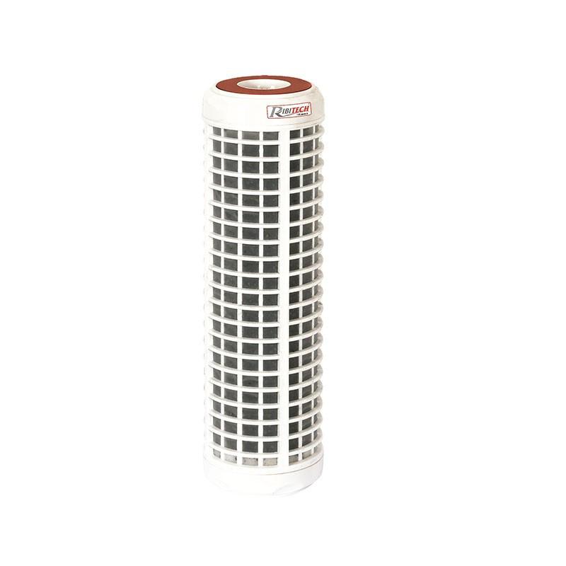 Washable CFL filter cartridge 93/4 50 micron + CCA coals - Ribitech