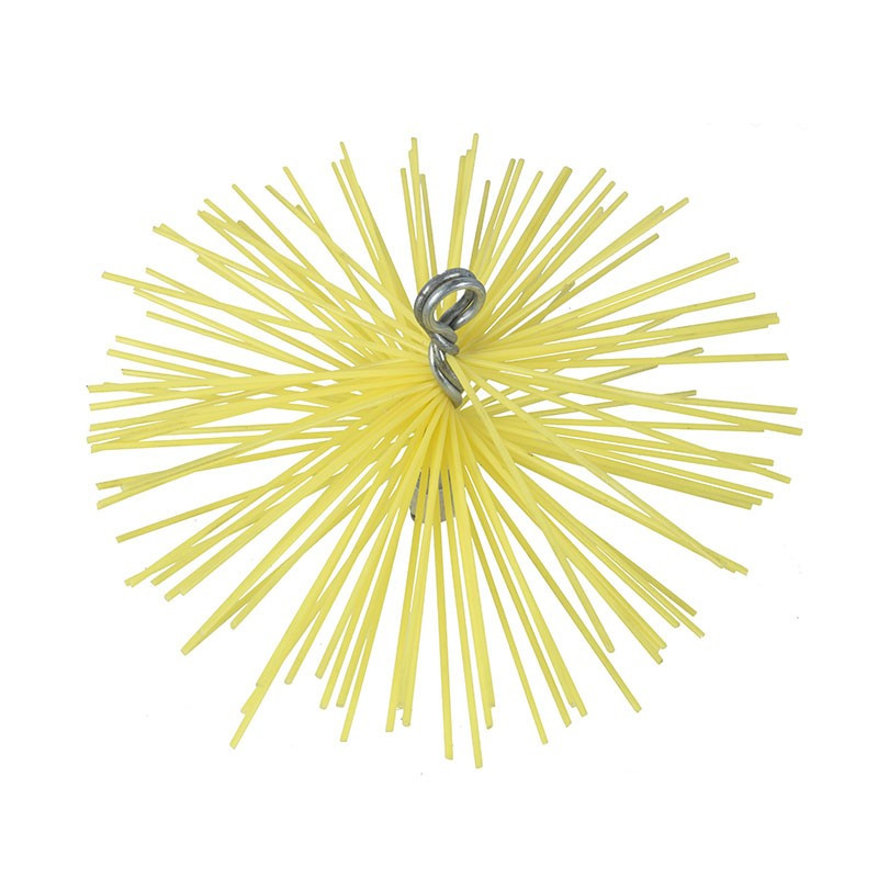 Nylon round hedgehog 150mm M 12x175 thread - Ribitech
