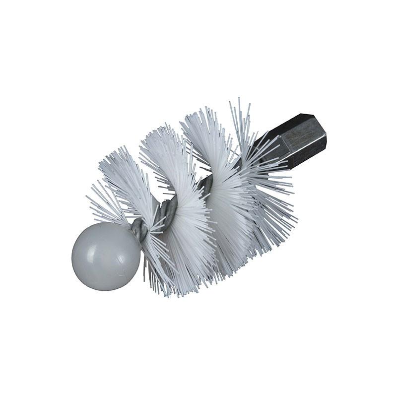 Nylon round hedgehog 100mm M 12x175 thread - Ribitech