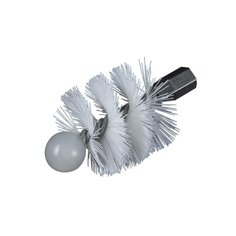 Nylon round hedgehog 120mm M 12x175 thread - Ribitech
