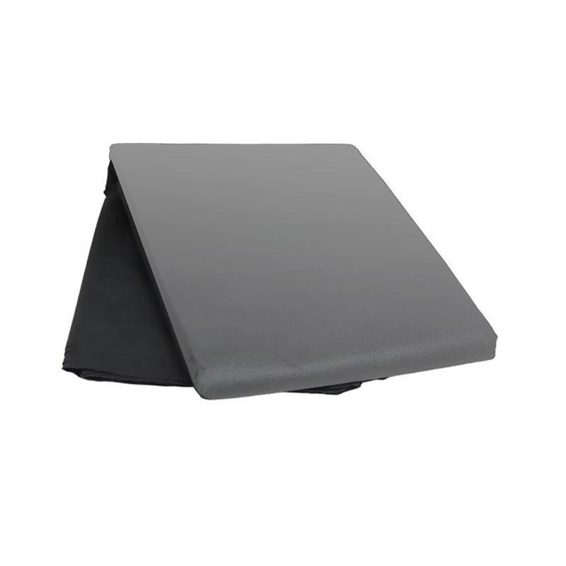 Universal mulching film black and silver 25mic 350 holes X 6cm diameter - 95cm x 10m - Nature