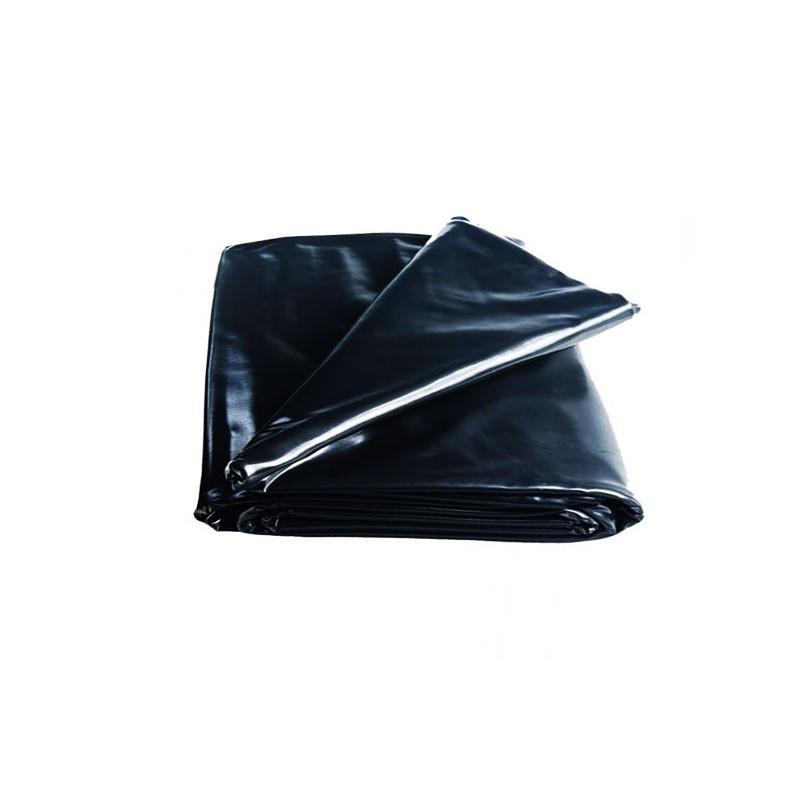 Black LDPE anti UV mulching film - 100mic - 6X50m - Nature