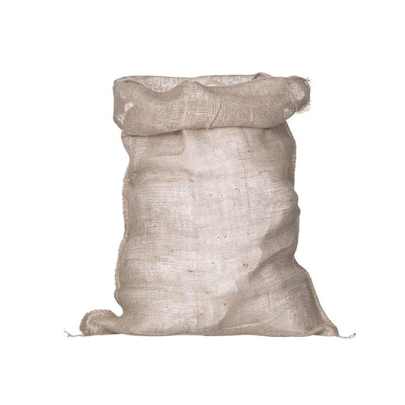 Jute bag with drawstring h90 X 40 cm - Nature