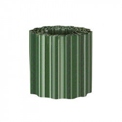 6040602 BORDURE A GAZON PVC VERT H20 CM X 9 M