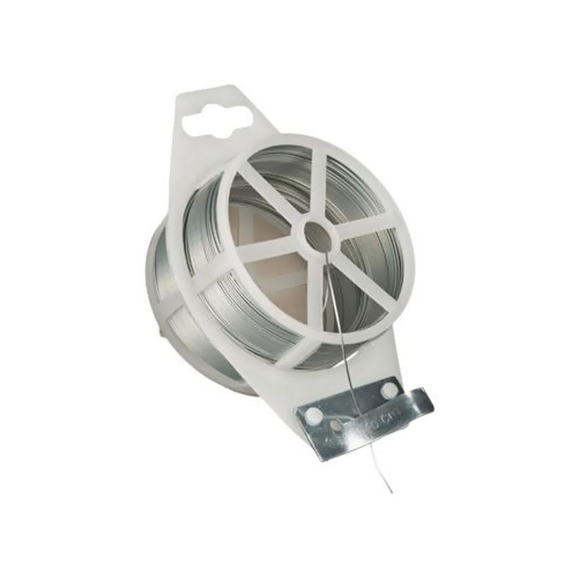 Galvanized wire - Diameter 1.2 mm x 50 m - Nature