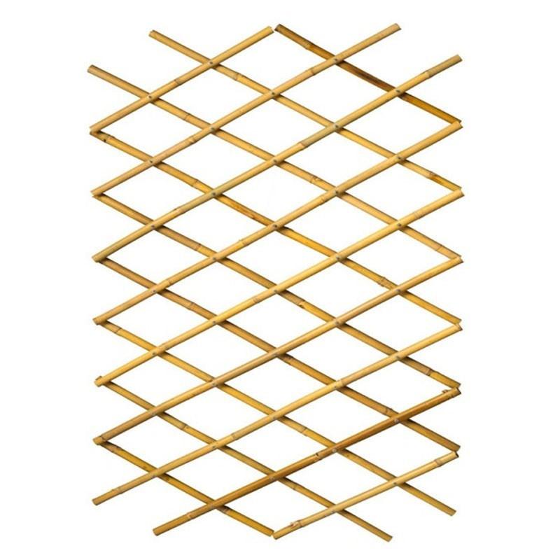 Stretch bamboo latticework - 100x200 cm - Nature