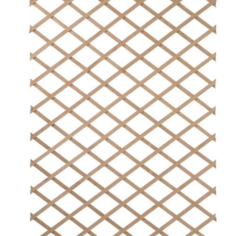 Expandable latticework in natural wood - 1x3m - Nature