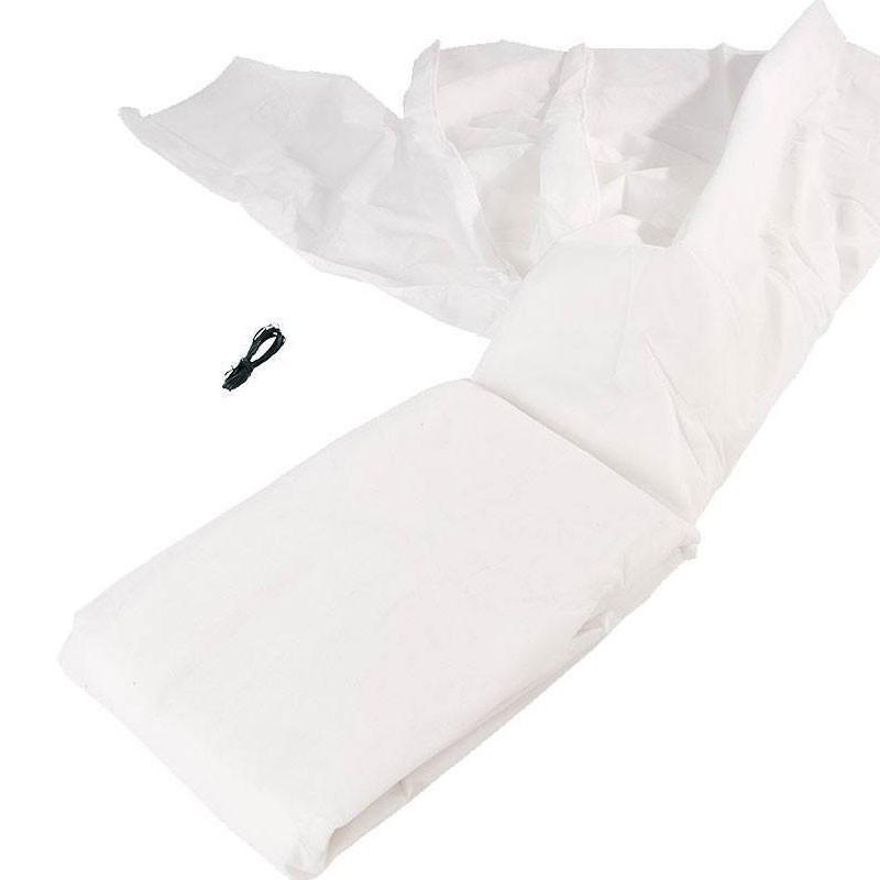Winter sails - PP - White 30 g/m2 - 2 X 10 m - Nature