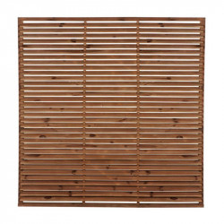 SCREEN LOUVER BROWN EP75 - 1800X1800 MM
