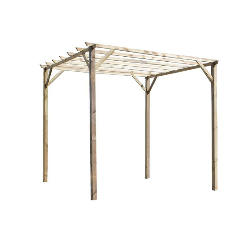 Pergola arbour Ancolie 3000x3000x2400 mm - Forest-Style