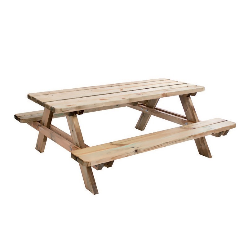 Matisse picnic table 180x165x70cm - Forest-Style