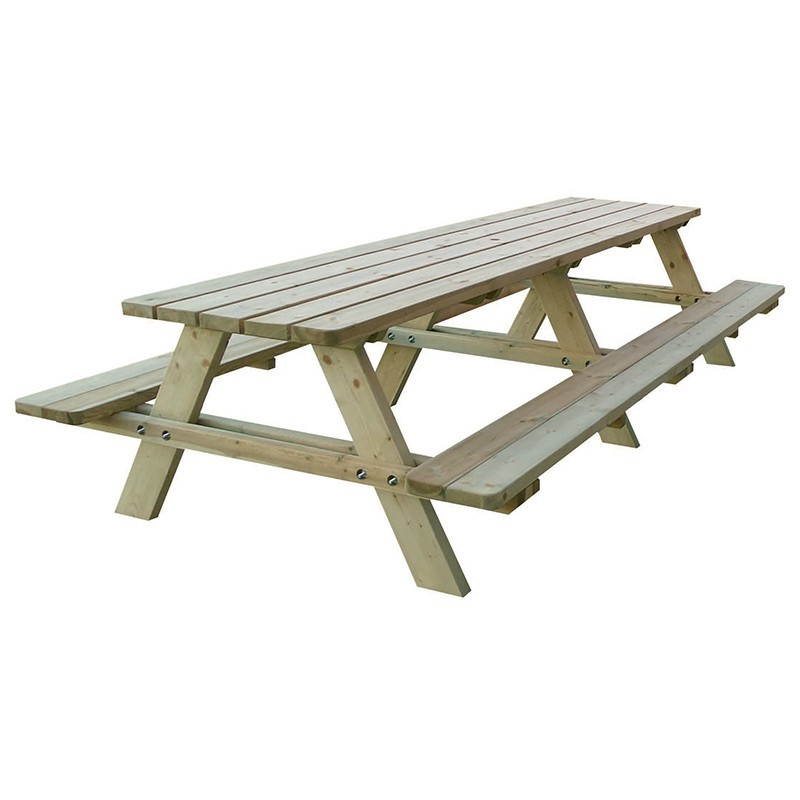 Matisse picnic table large 166x300x74cm - Forest-Style