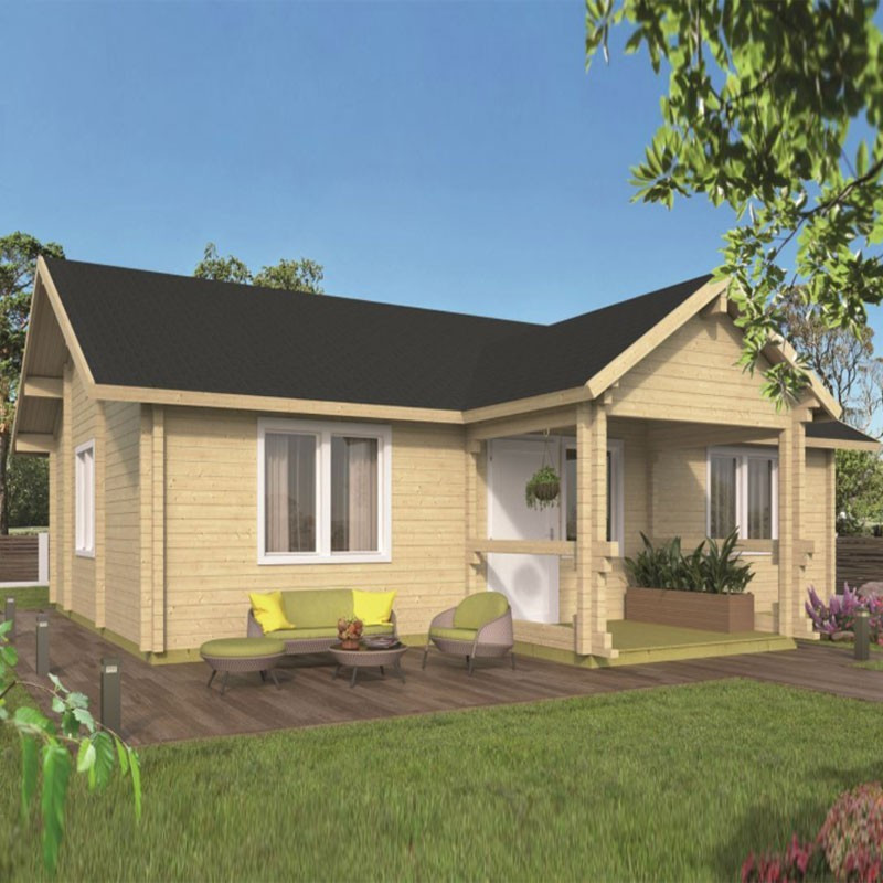 Chalet Finn 68,10 m² - Thickness 92mm - Tuindeco