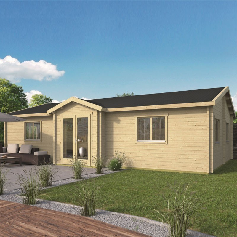 Chalet Skerries 65,9 m² - Thickness 70mm - Tuindeco