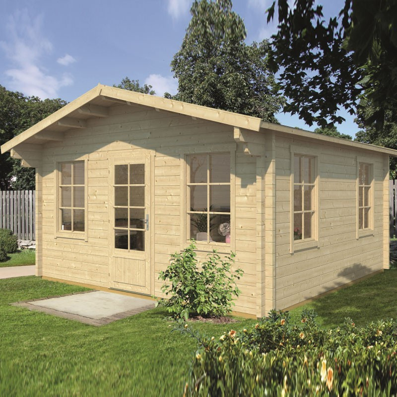 Chalet Fermoy 25m² - Thickness 70mm - Tuindeco