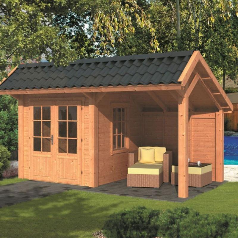 Modular garden building Bergen L type 3 - Tuindeco