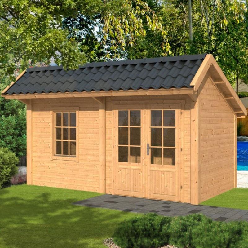 Modular garden building Bergen L type 4 - Tuindeco