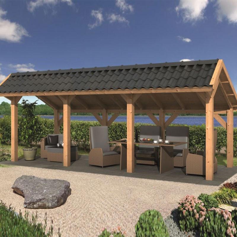 Modular garden building Bergen L type 5 - Tuindeco