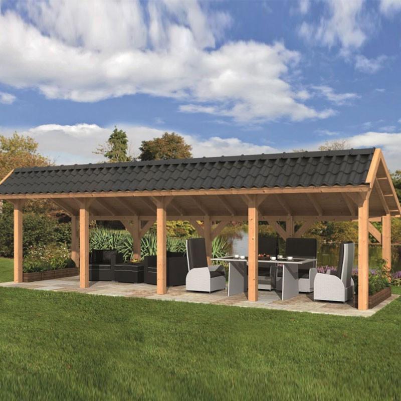 Modular garden building Bergen L type 9 - Tuindeco