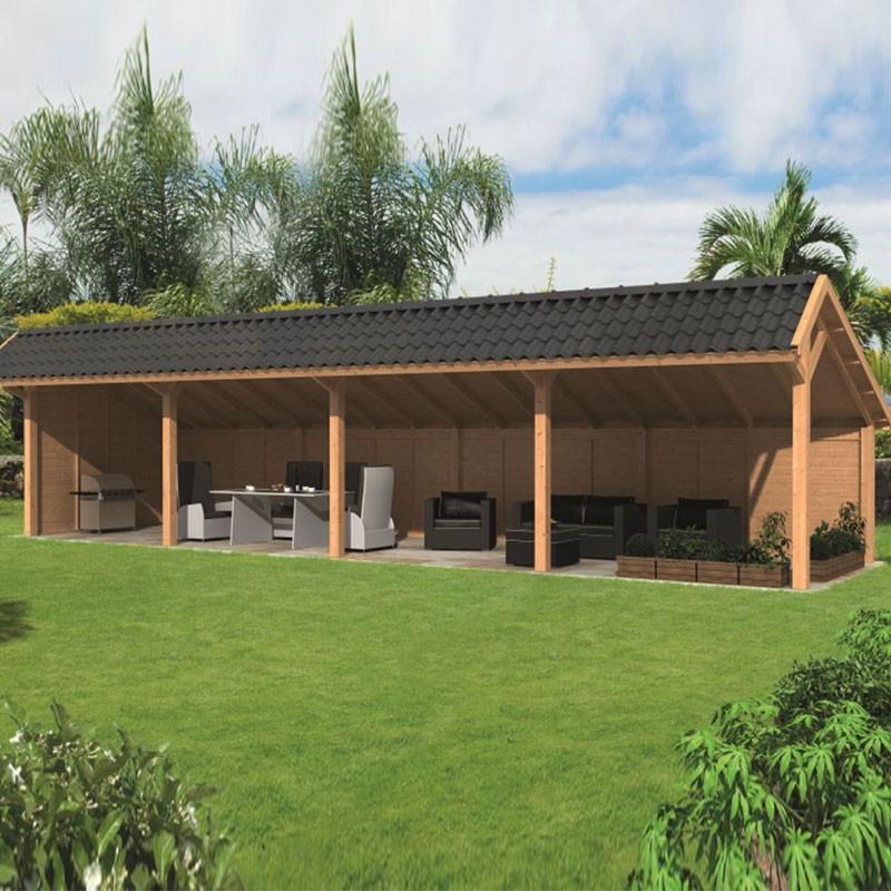 Modular garden building Bergen L type 10 - Tuindeco