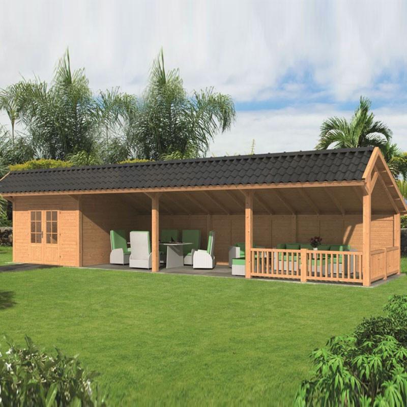 Modular garden building Bergen L type 11 - Tuindeco