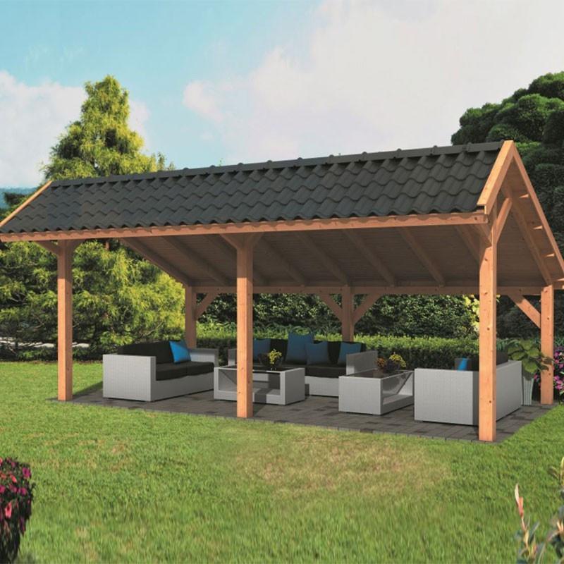 Modular garden building Bergen XL type 1 - Tuindeco
