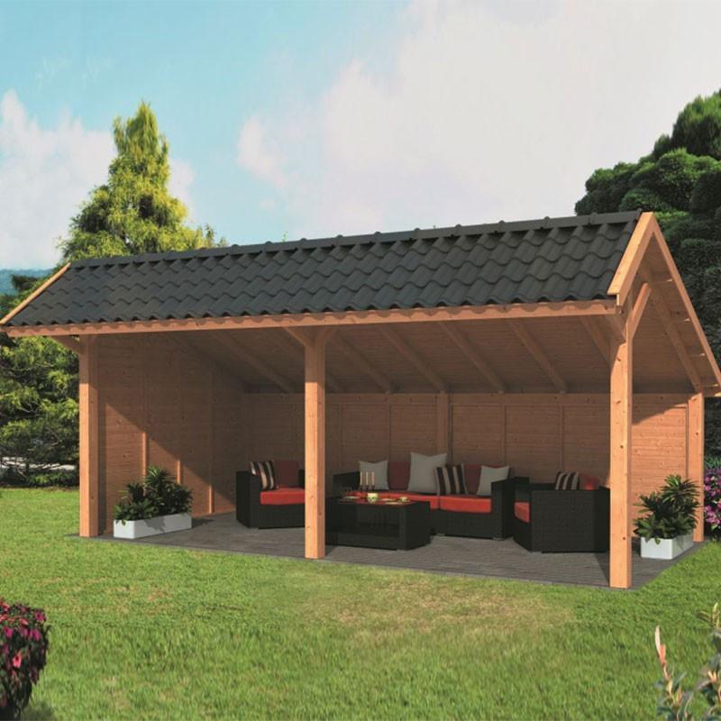 Modular garden building Bergen XL type 2 - Tuindeco