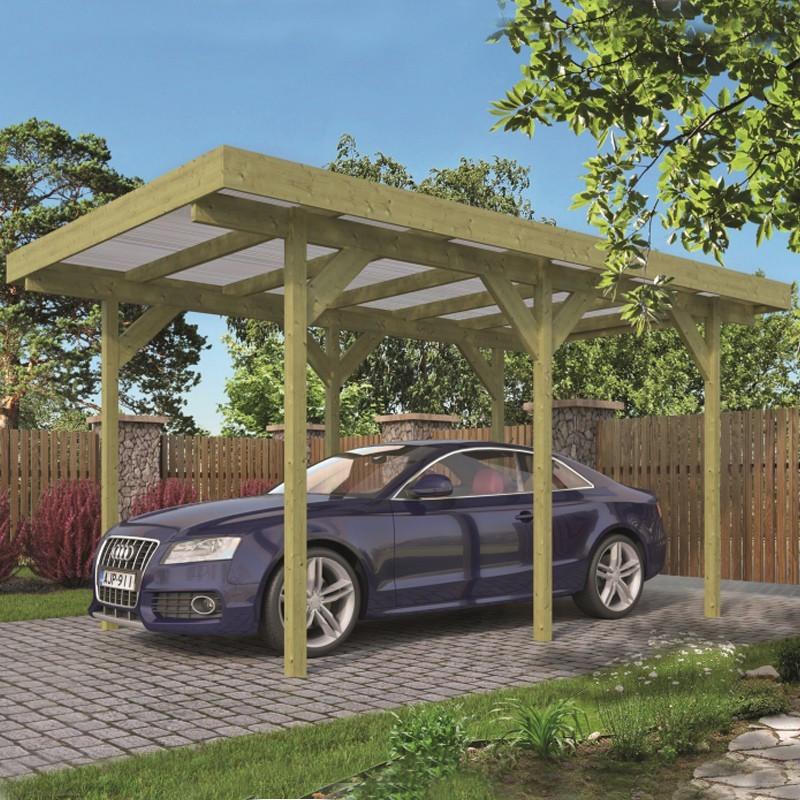 Single Carport / Dinghy - 300 x 500 cm - Tuindeco