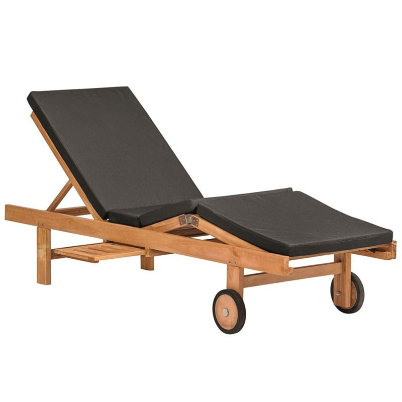 Wembley Adjustable Teak Deck Chair - Tuindeco