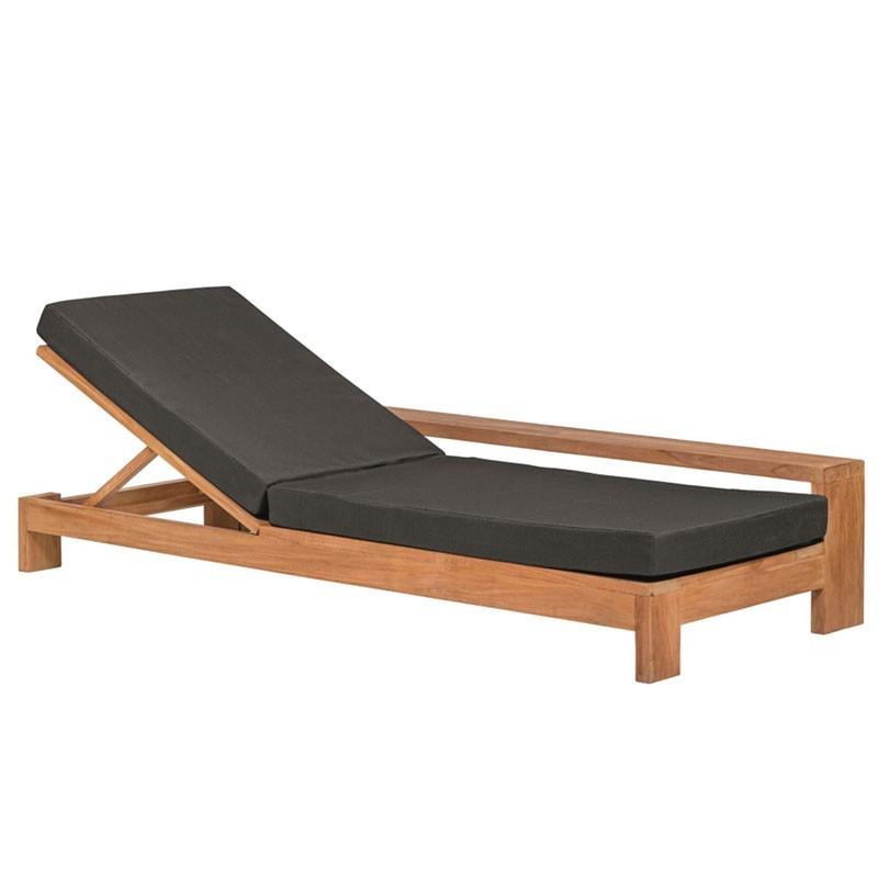 Danau Adjustable Teak Deck Chair - Tuindeco