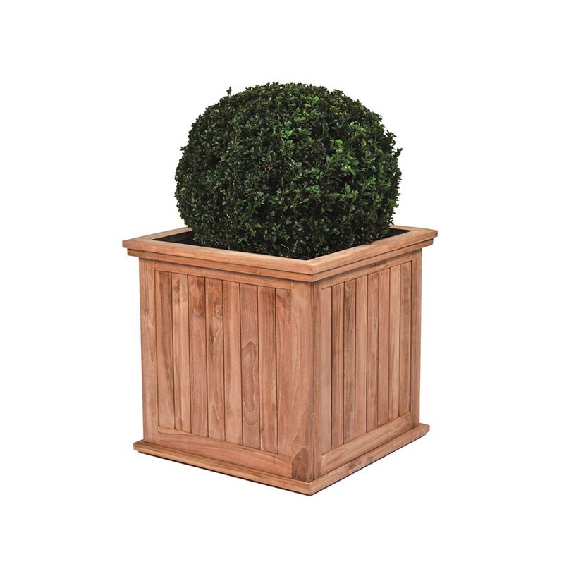 Teak planter - Kalimantan (Small) - Tuindeco