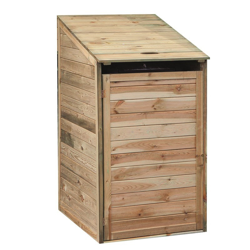 Impregnated Pine Storage Container - Double - Tuindeco