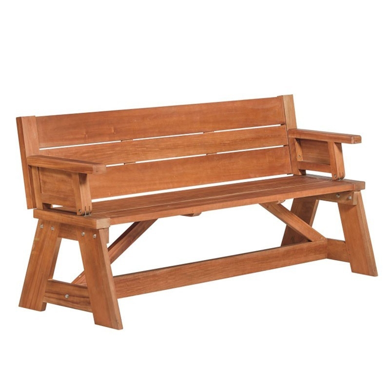 Folding bench in half picnic table Vancouver - Tuindeco