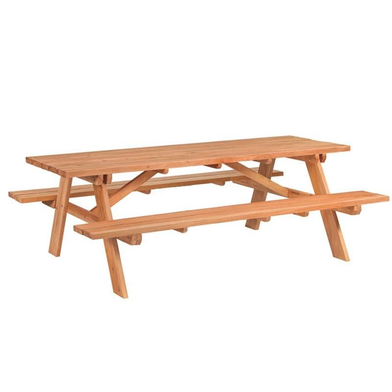 Giant Picnic Table - Hardwood - Tuindeco