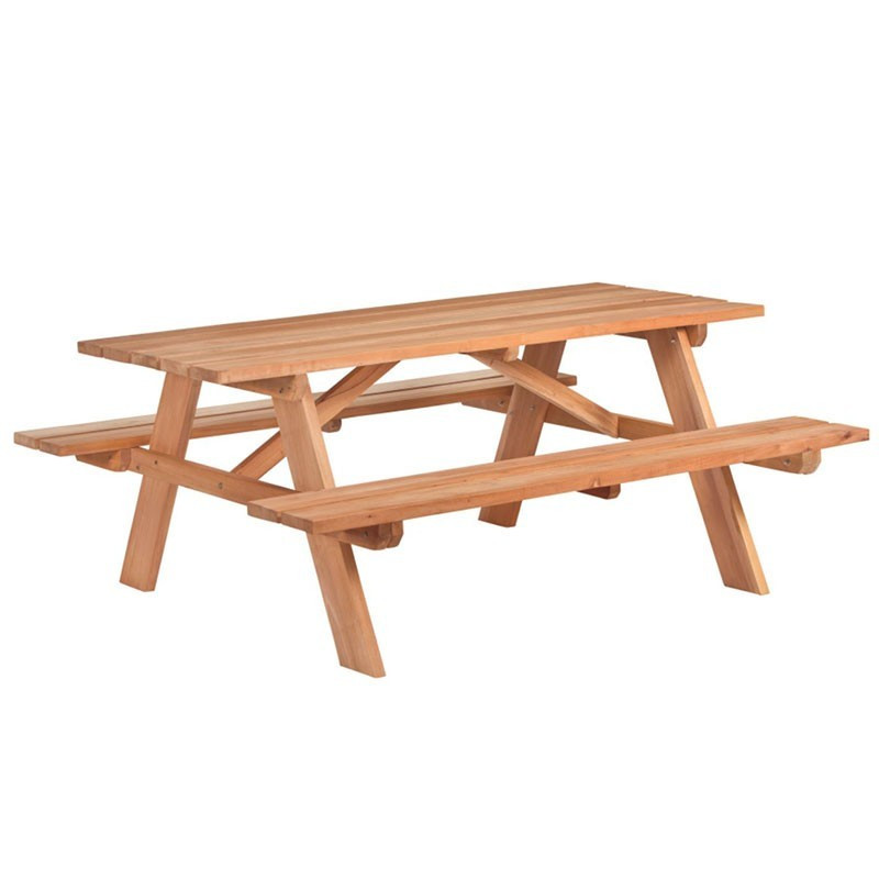 Comfort picnic table - Hardwood - Tuindeco
