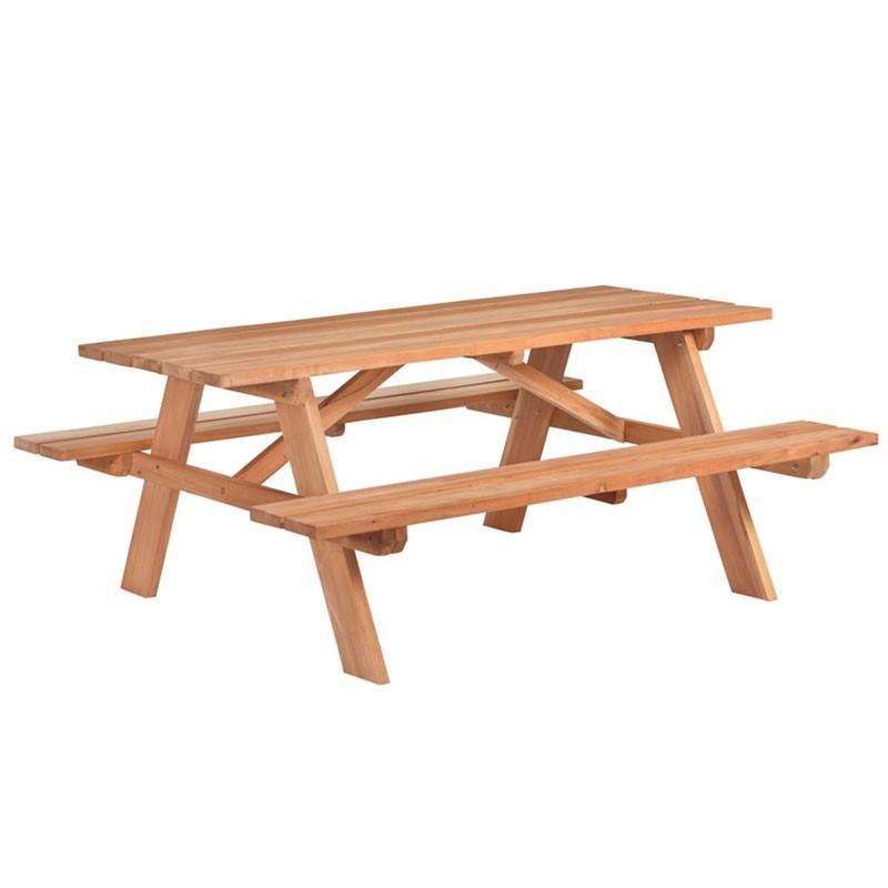 Business Picnic Table - Hardwood - Tuindeco