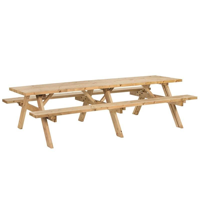 Superior Picnic Table - Impregnated Fir Tree - Tuindeco