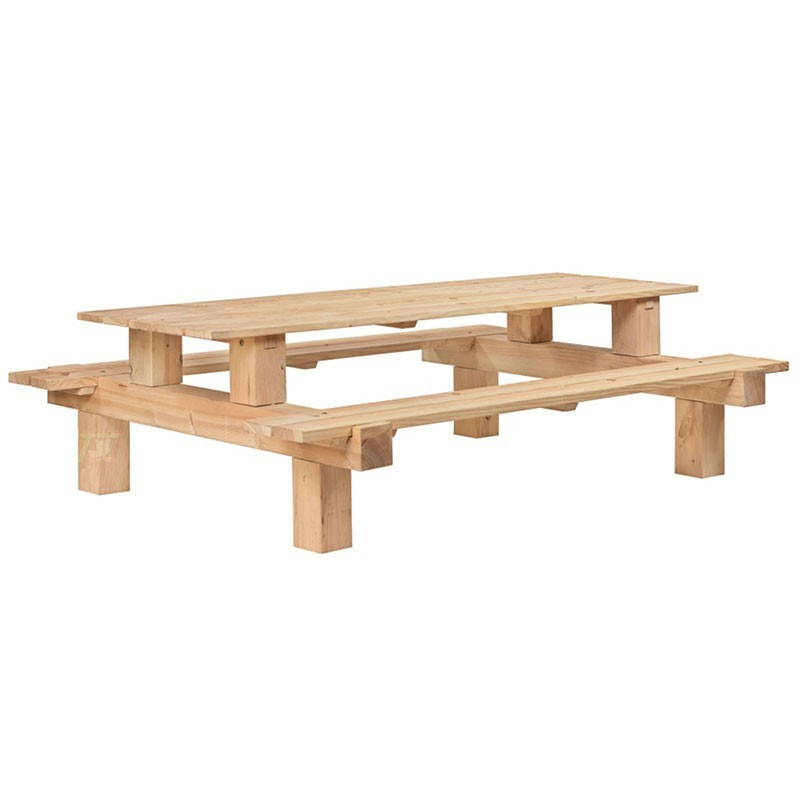 Picnic table Boss- Douglas Larch - Tuindeco