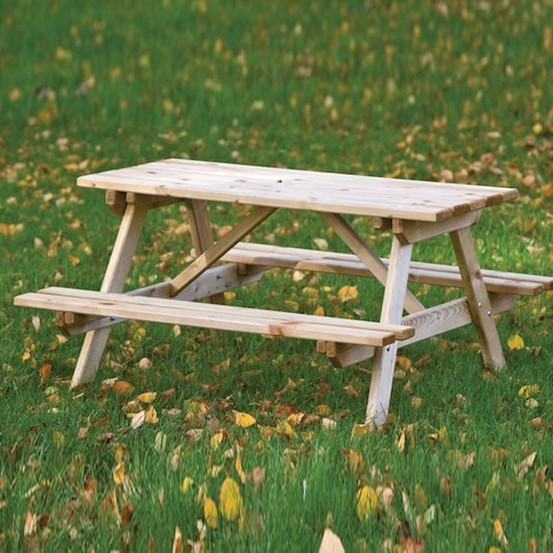 Picnic table for children - Impregnated pine - Tuindeco