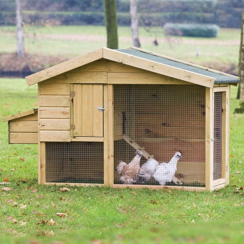 Barnevelder Chicken House - 218 x 78 x 136 cm - Tuindeco