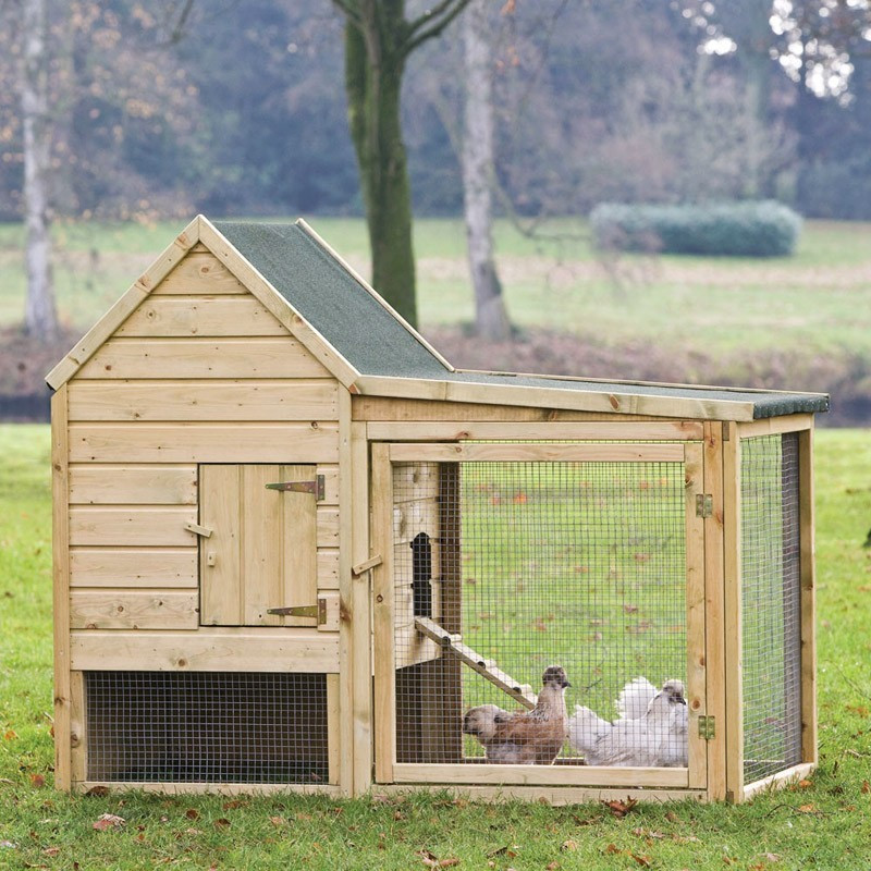 Wyancotte Chicken House - 190 x 95 x 165 cm - Tuindeco