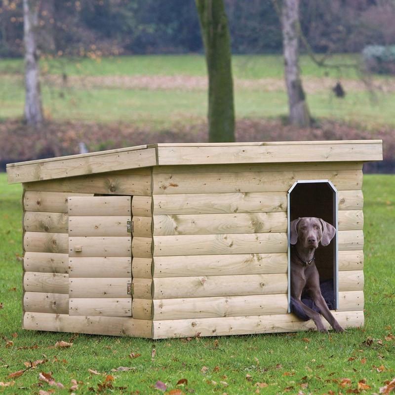 Bulldog Kennel - 150 x 120 x110 cm - Tuindeco