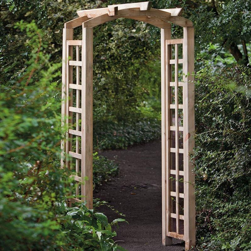 Set for vaulted pergola - l90 X P54 X H214 cm - Tuindeco