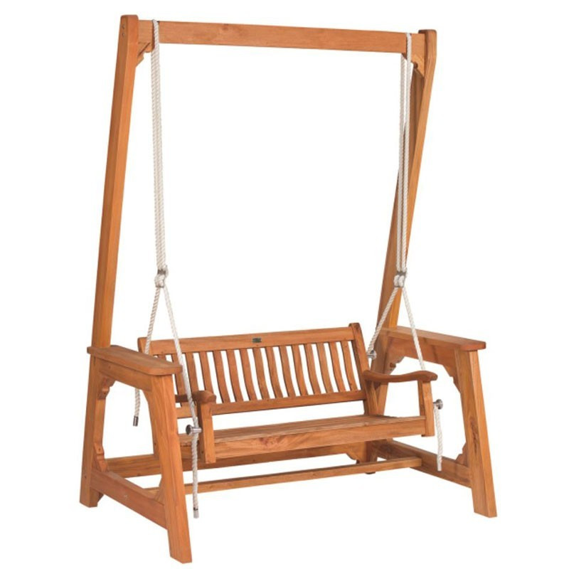 Hardwood garden swing - Tuindeco